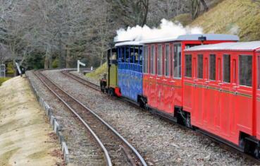 ... 鉄道というイメージとは違った